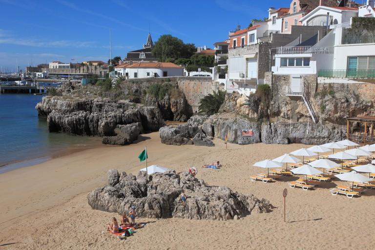 Portugal, Cascais, Praia da Rainha, beach,