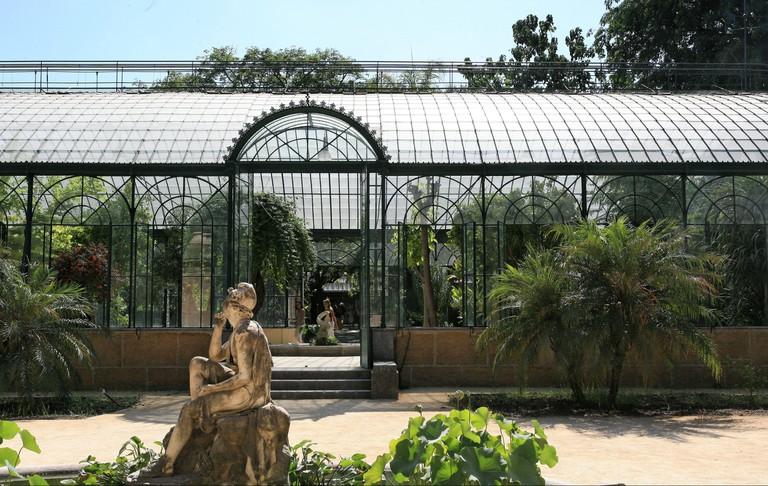 Winter Garden, Botanical Garden, Palermo, Sicily, Italy