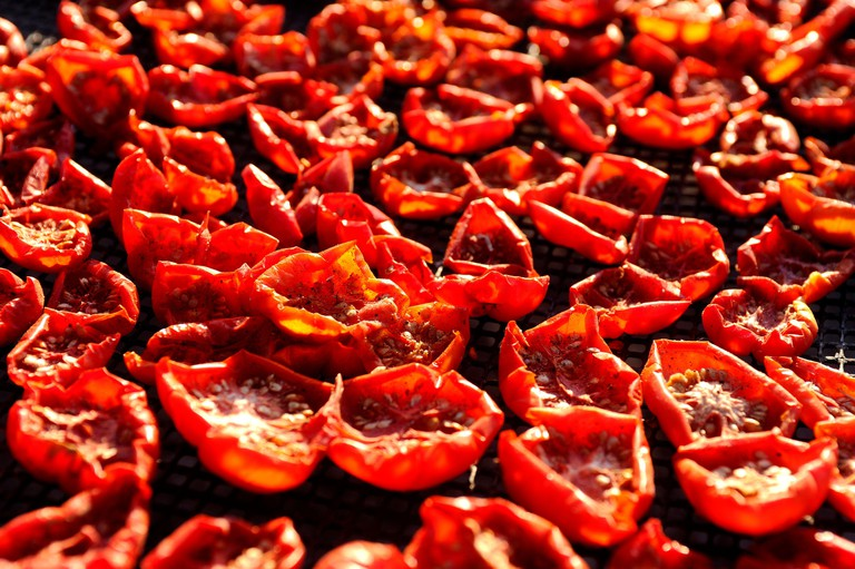 Sun dried Santorini cherry tomatoes