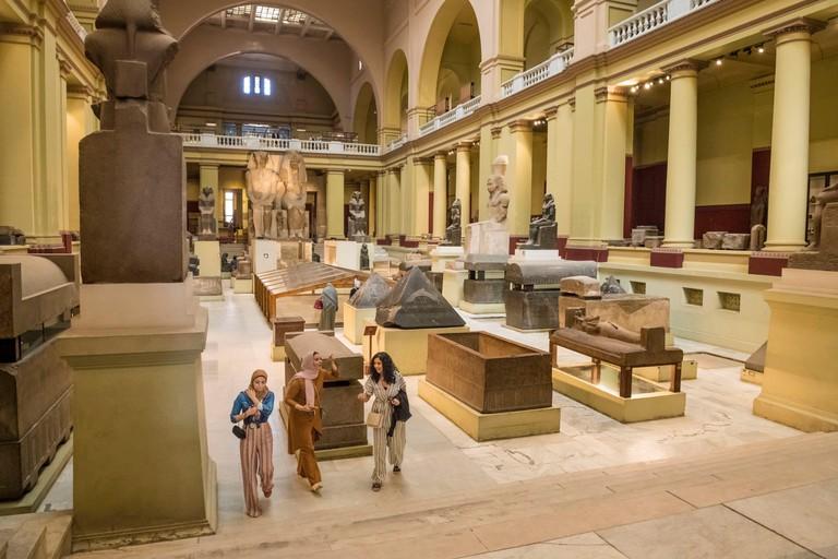 Egypt, Cairo, Egyptian museum of Cairo