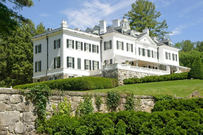 Lenox, MA USA - June 24 2019 - The Mount. Edith Wharton's home from 1902 - 1911