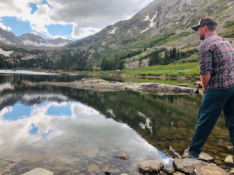 2C9T919 Secluded Fishing in Blue River, CO