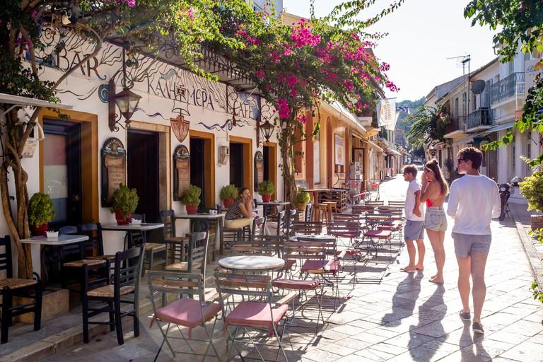 cafe Kalimera Paxos Island, Greece