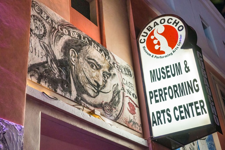 The Cubaocho Museum and Performing Arts Center on Calle Ocho in Miami?s Little Havana.