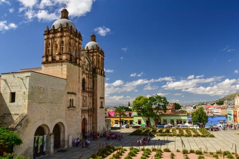 Santo Domingo de Guzman Church in Oaxaca, Mexico