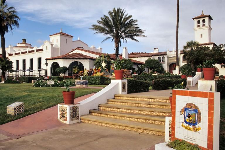 Centro Social y Cultural in Ensenada, Baja California, Mexico. Image shot 2007. Exact date unknown.