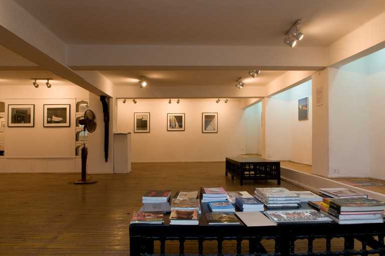 Photography displayed at Mashrabia Gallery of Contemporary Art  in downtown Cairo Egypt