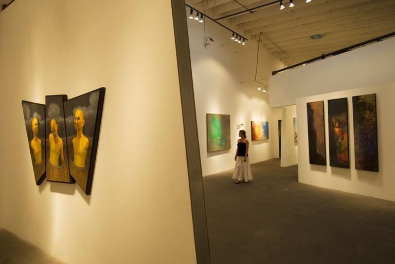 James Gray Gallery in Bergamot Station Santa Monica CA