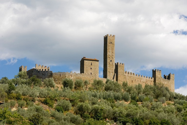 The Castle of Montecchio built by Sir John Hawkwood in the 14th C