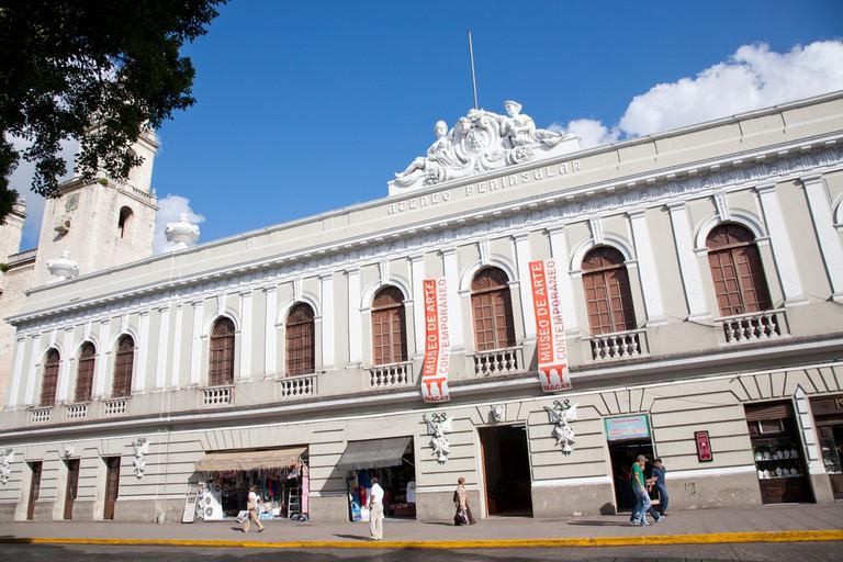 Ateneo Peninsular, Museo de Arte Contemporaneo. Contemporary Art Museum. Merida, Yucatan, Mexico.