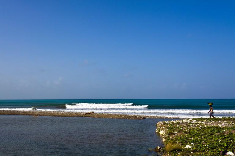 Haiti, Sud Province, Port Salut.