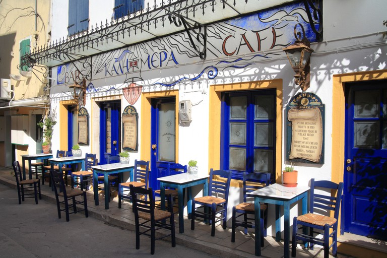 BR0N96 Cafe Kalimera, Gaios town, Paxos, Paxi, Greece
