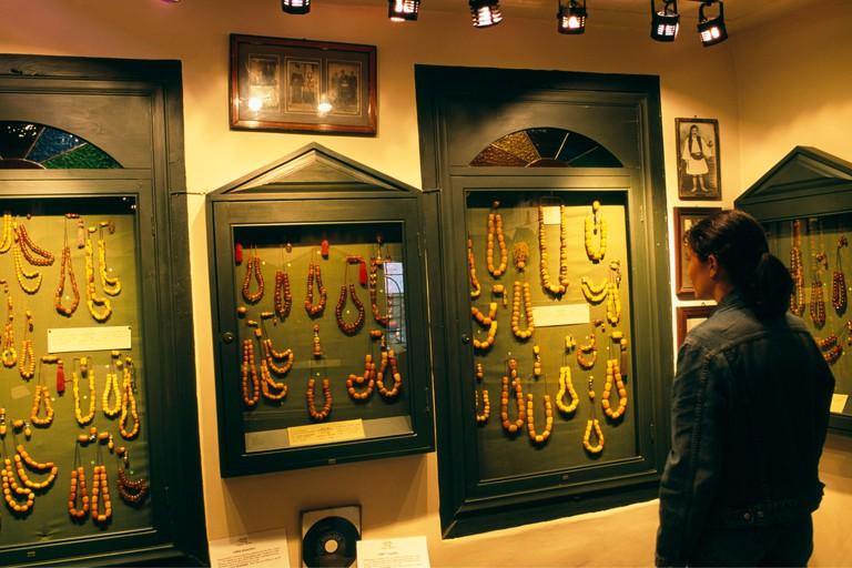 Komboloi Museum, kompoloi, worry beads, Nafplion, Nafplio, Peloponnese, Peloponesus, Greece