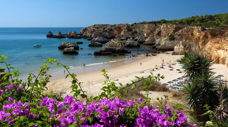 Praia do Vau beach scene