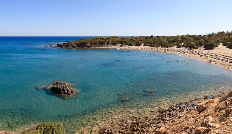 C7Y8C8 Glystra Bay in Rhodes, Greece