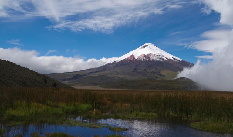 Cotopaxi volcano, Ecuador, Andes, Cotopaxi National Park