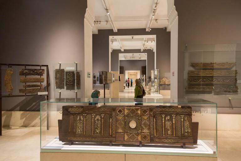 interior of the Museum of Islamic Art, Cairo, Egypt