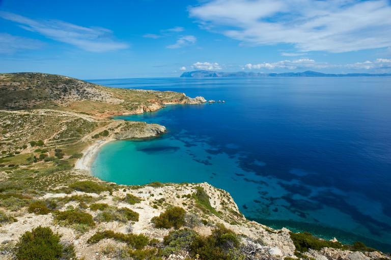 Livadi Beach, Donoussa, Cyclades, Aegean, Greek Islands, Greece, Europe