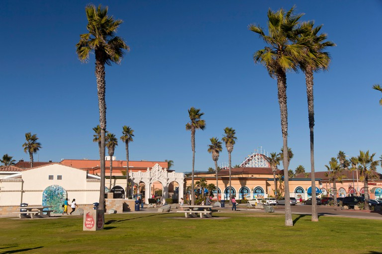 Belmont Park on Mission Beach in San Diego, California, United States of America, USA