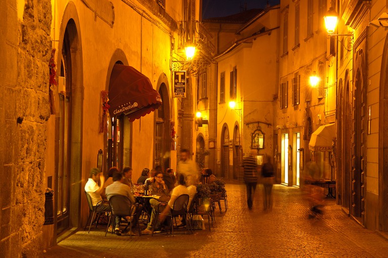 D7T72A Orvieto, Old town, Terni Province, Umbria, Italy