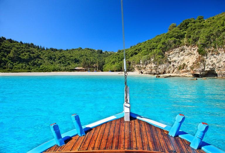 DA16WX Voutoumi beach, Antipaxos island, Greece