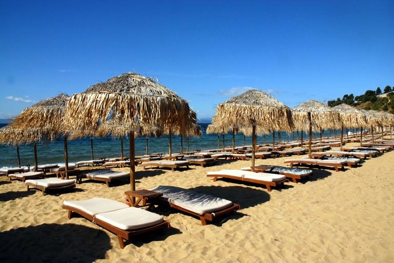 DA2ED7 Greek Beach, Agia Paraskevi