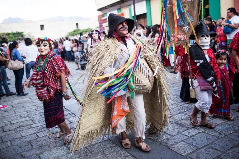 Guelaguetza in Oaxaca City 2013.