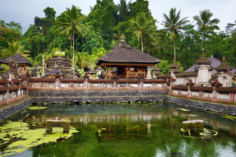 Tirta Empul Temple, Tampak Siring, Bali, Indonesia
