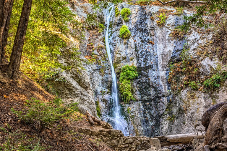 Pfeiffer Falls. Pfeiffer Big Sur State Park, California. EGJMRT