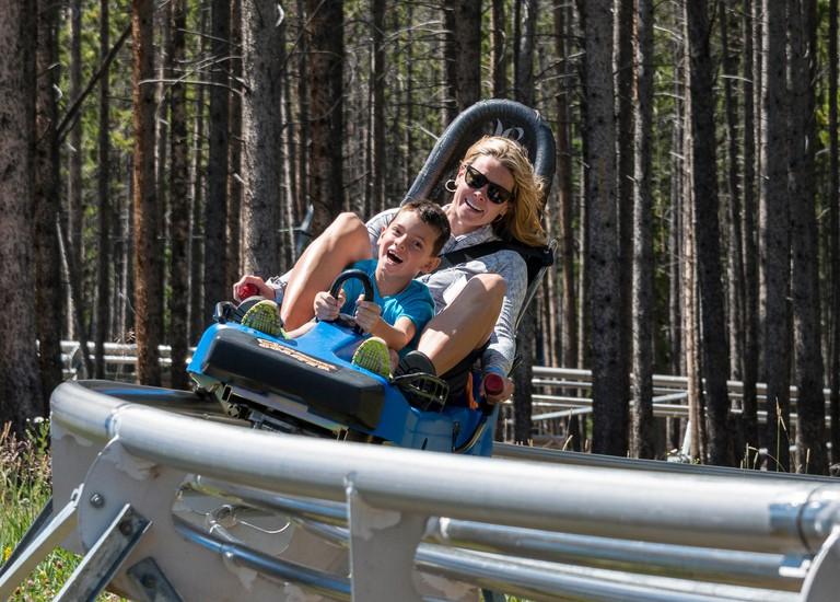 EHCANK Gold Runner Alpine Coaster, Breckenridg Ski Resort, Breckenridge, Colorado