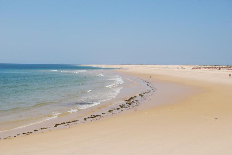 Ilha Deserta Algarve Portugal