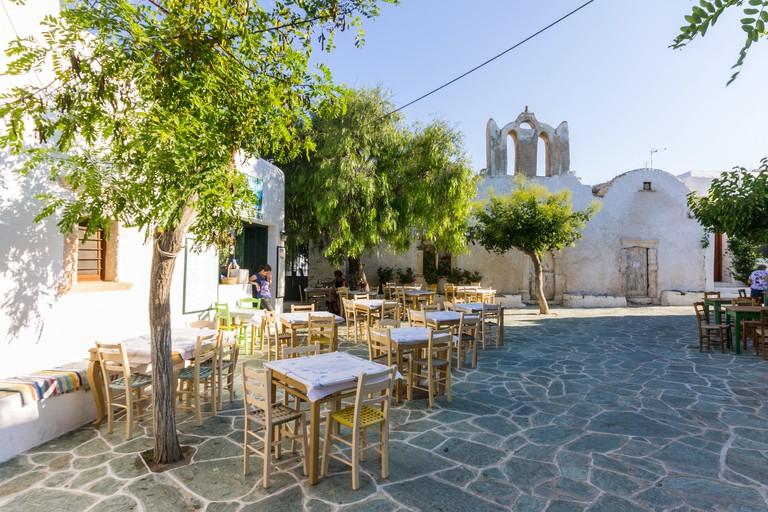 Greece, Cyclades, Folegandros Island, chora Folegandros