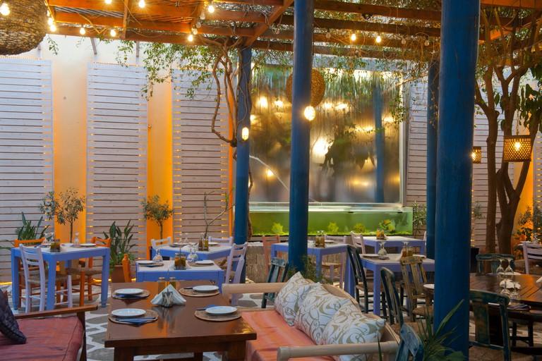 Griechenland, Kreta, Agios Nikolaos, Restaurant Pelagos, Stratigou Koraka 10