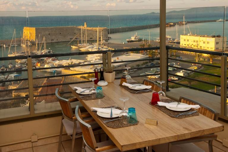 Griechenland, Kreta, Heraklion, Hotel Lato, Epimenidou 15, Herbs Garden