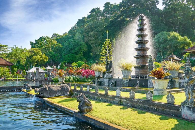 Bali, Indonesia -The Water Palace Tirta Gangga