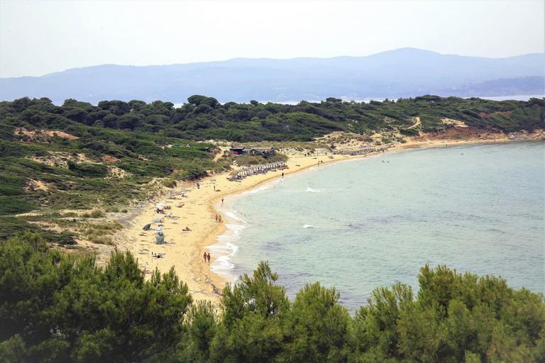 Elia Mantraki beach, Skiathos, Greece
