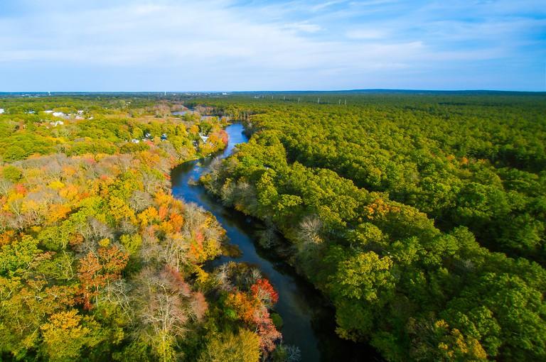 Peconic River, Riverhead, NY