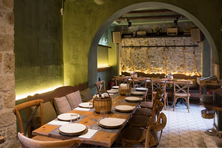 Griechenland, Kreta, Heraklion, Restaurant Peskesi
