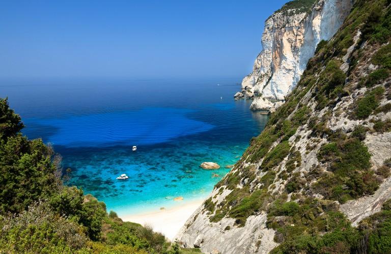 Erimitis beach, Paxos, Greece