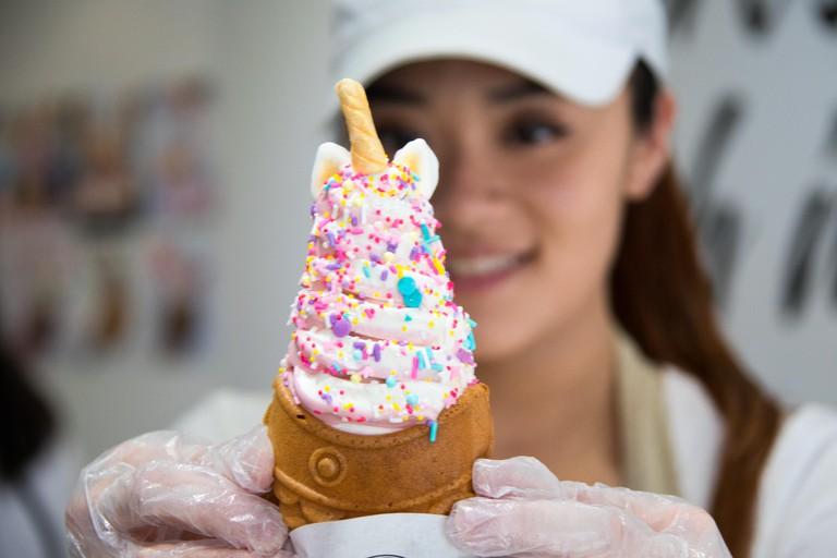 JE6EPR Taiyaki NYC, Japanese Ice Cream, Chinatown, New York