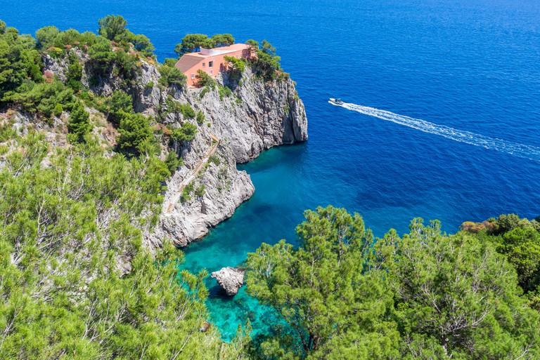 Villa Malaparte   Capri   Italy