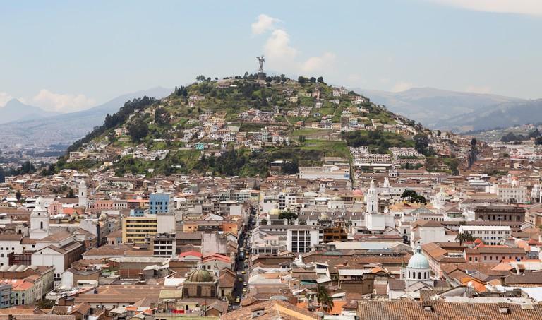Panecillo Hill, Quito Ecuador South America