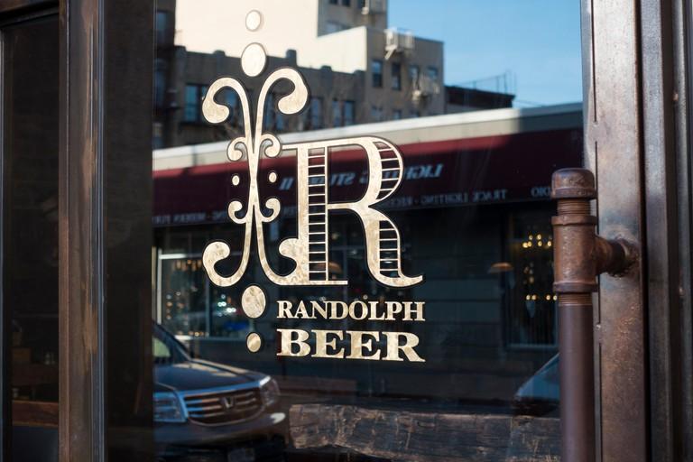 Randolph Beer, a restaurant bar in Nolita, Lower Manhattan
