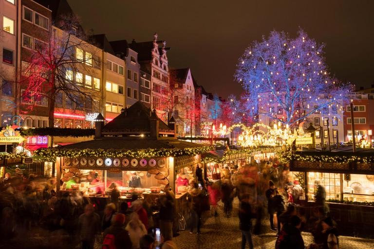 Market of the Heinzel, Christmas Market, Old Market, Old Town, Cologne, Rhineland, North Rhine-Westphalia, Germany