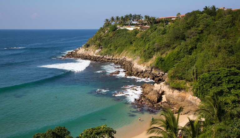 Playa Carrizalillo, Puerto Escondido, Oaxaca, Mexico, North America