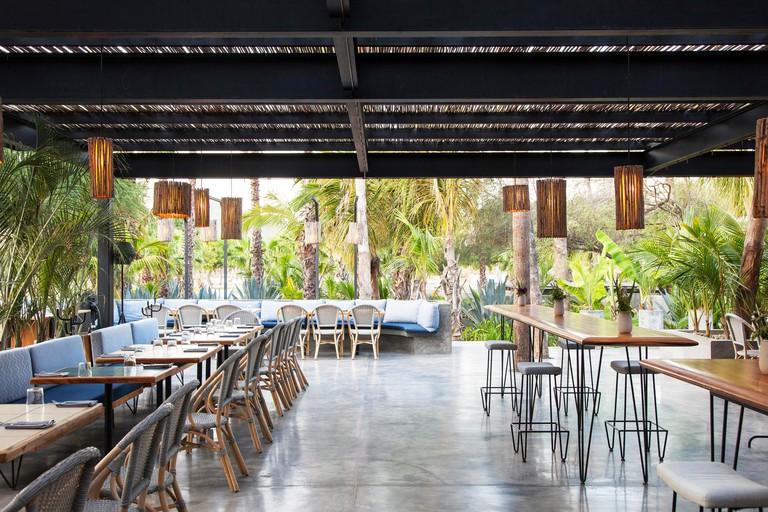 Seating at Acre restaurantLos Cabos, Baja California Sur, Mexico