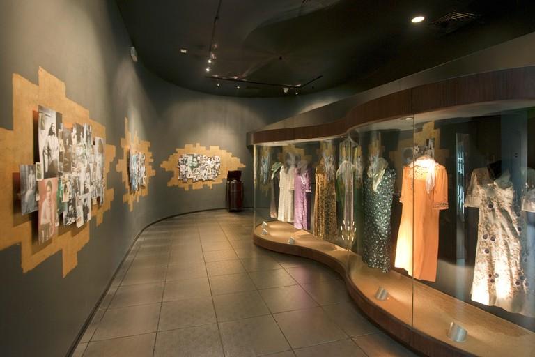 Aegypten, Kairo, Insel Roda (Manial), Oum Kalthoum-Museum