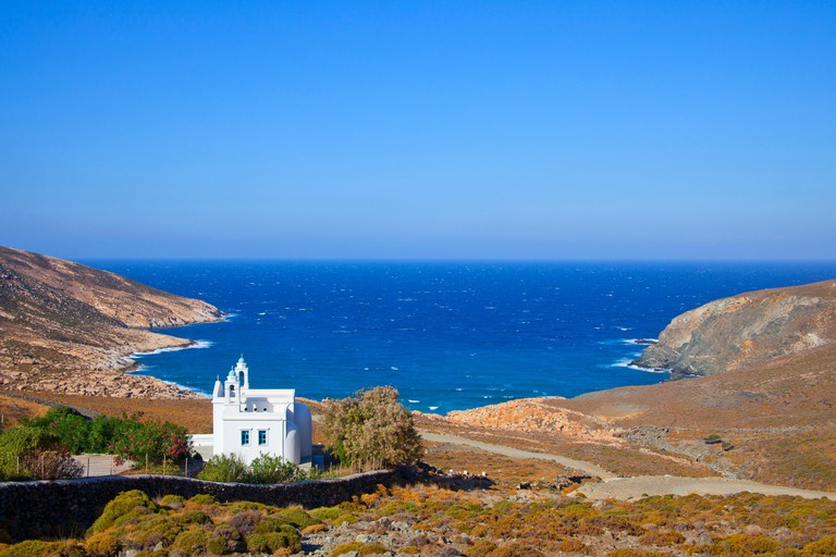 Livada Beach, Tinos Island, Cyclades, Greek Islands, Greece, Europe