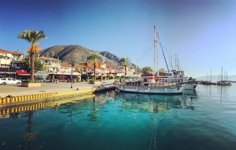 Nidri waterfront