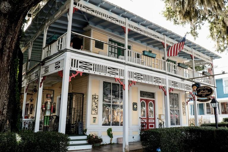 Sprague House. Crescent City, Florida.